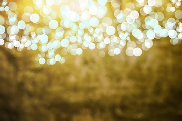 Złoto kolorowe tekstury stylu retro z bokeh