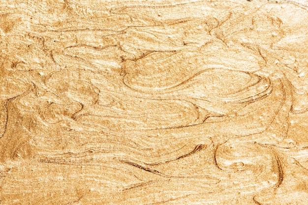 Złoto malowane teksturowane tło ściany