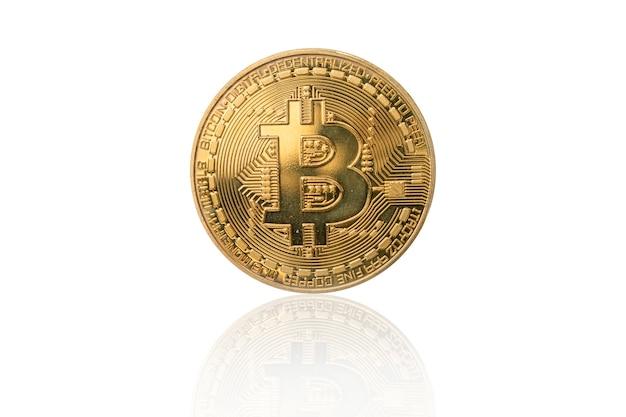 Złoty bitcoin