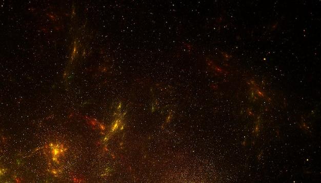 Złoty brokatowy tło tekstury cząstek pyłu