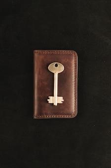 Złoty klucz jest na starym portfelu