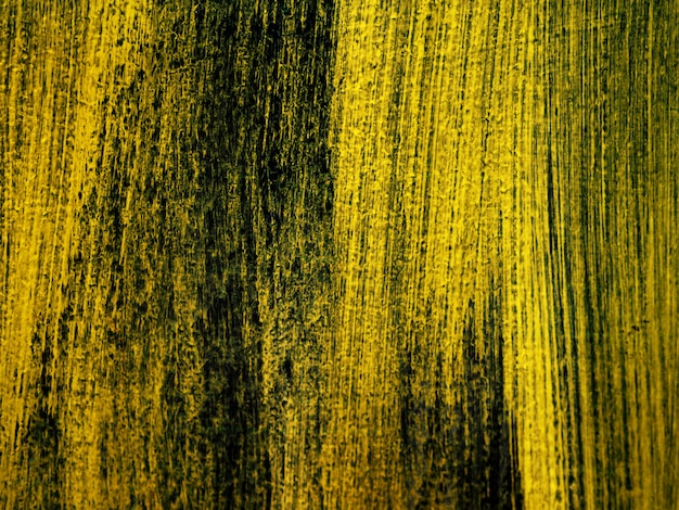 Złoty obraz olejny pędzla obrysu pędzla