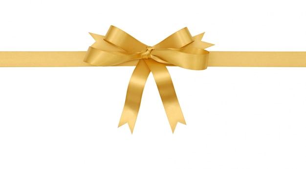Złoty prezent łuk