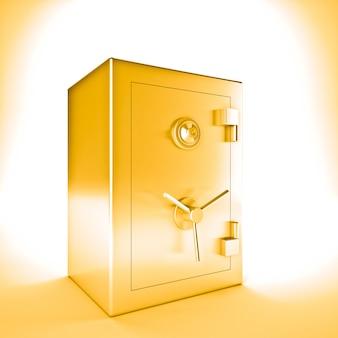 Złoty sejf