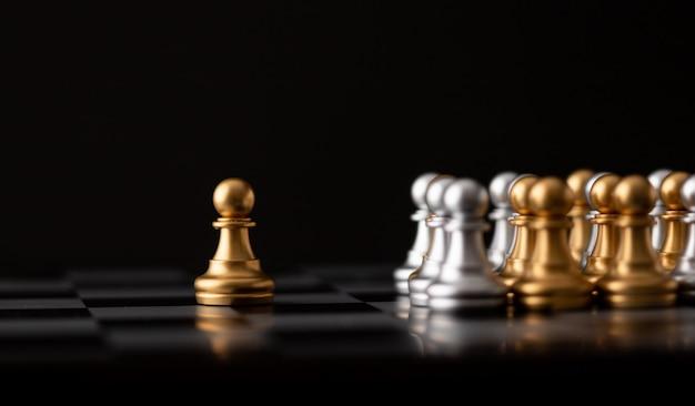 Złoty szachista jest liderem