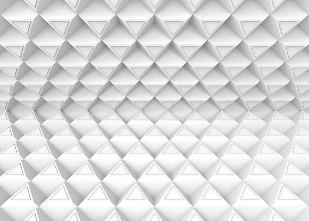 Złudzenie styl nowoczesny trójkąt tło wzór ściana.