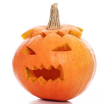 Zły dynia halloween