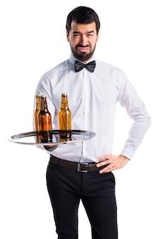 Zmęczony kelner