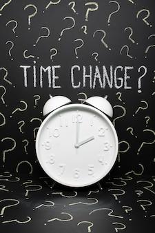 Zmiany czasu w unii europejskiej kończące się czasem letnim