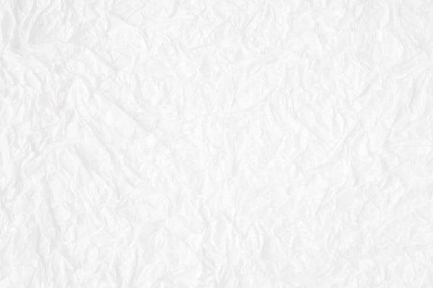 Zmięty biały morwa papier textured tło, szczegół zamykający up