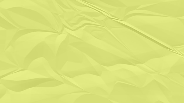 Zmięty koloru żółtego papieru tła zakończenie up