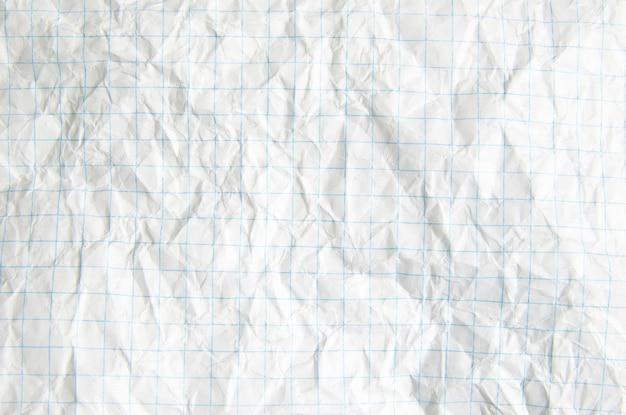 Zmięty papier doskonale nadaje się do tekstur i tła