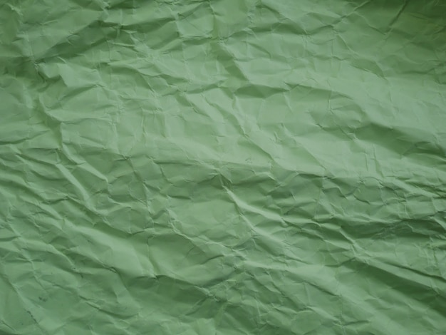 Zmięty tło zielony papier