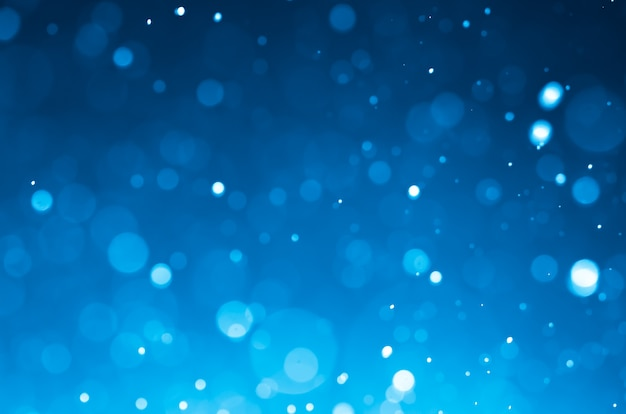 Zmrok - błękitni abstrakcjonistyczni tła z bokeh.