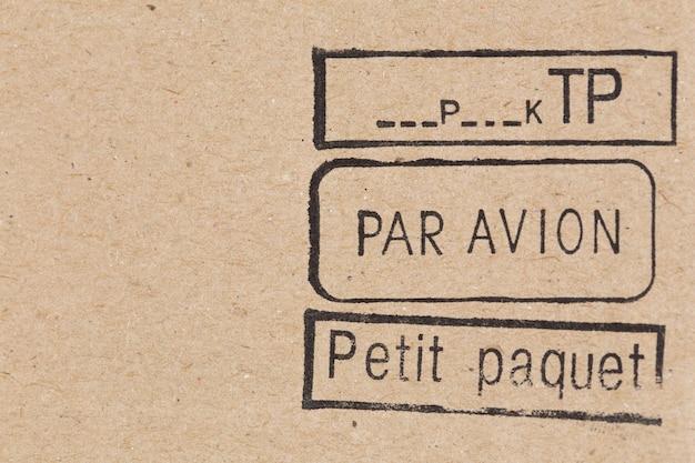Znaczki pocztowe małe opakowanie lotnicze