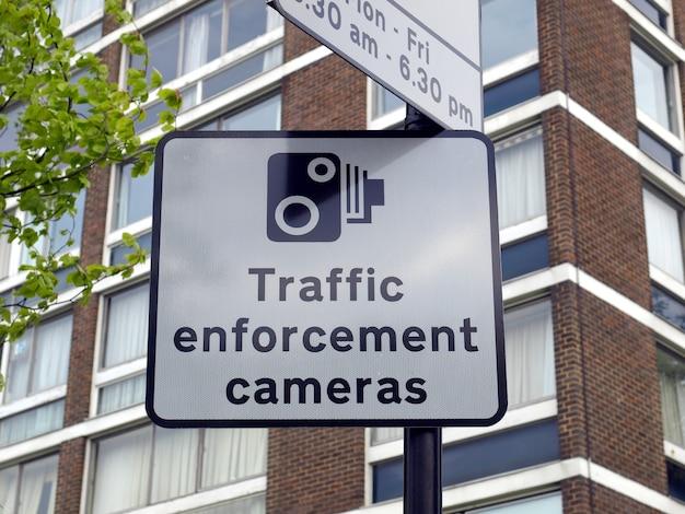 Znak fotoradarów