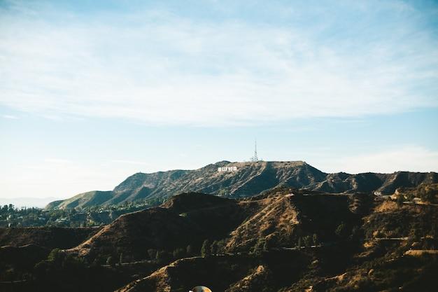 Znak hollywood w los angeles