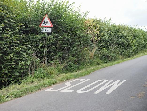 Znak małej prędkości