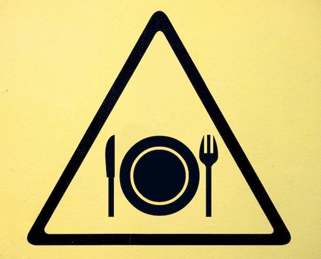 Znak niebezpieczeństwa wysokiego woltażu symbol