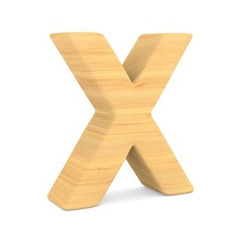 Znak x na spacji. ilustracja na białym tle 3d