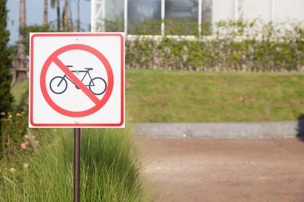 Znaki bezpieczeństwa na rowerze