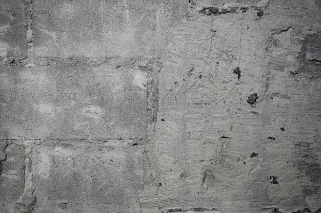Zniszcz popękaną betonową teksturę ściany