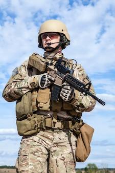 Żołnierz sił specjalnych us army