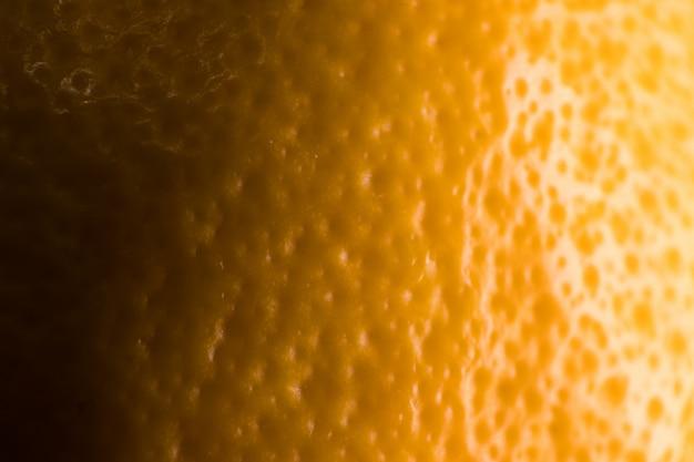 Żółta cytryna tekstury blisko