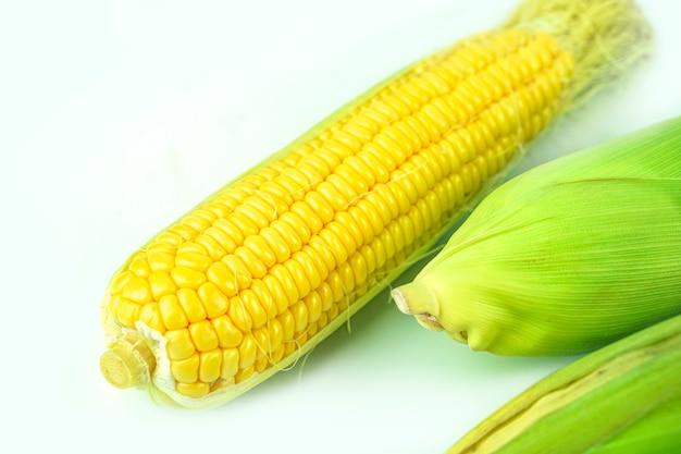 Żółta kukurydza ma wyśmienity słodki smak.