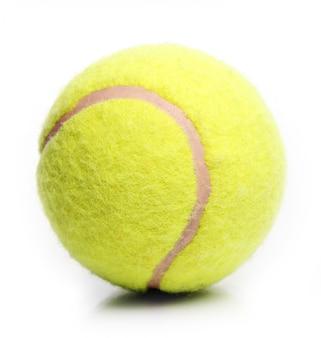 Żółta piłka tenisowa