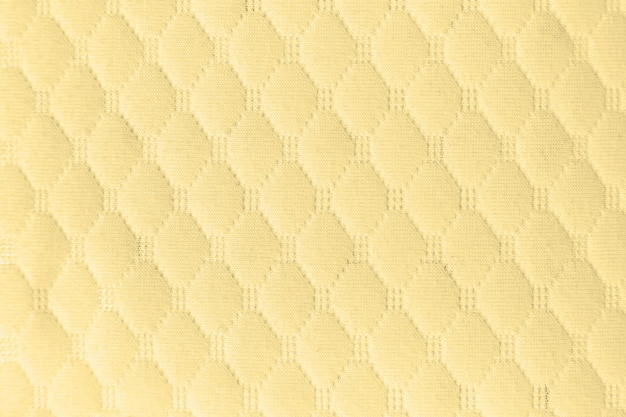 Żółta tkanina tekstura tło tkaniny dla projektu