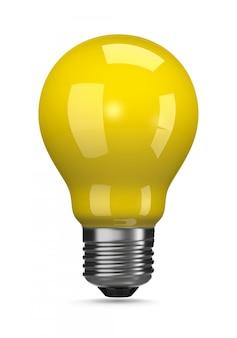 Żółta żarówka