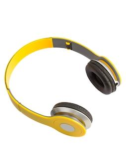 Żółte słuchawki