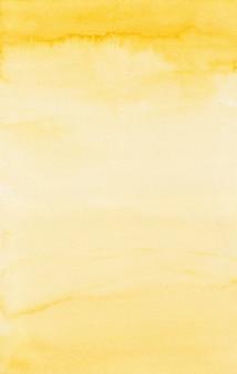 Żółte tło akwarela, tekstury papieru