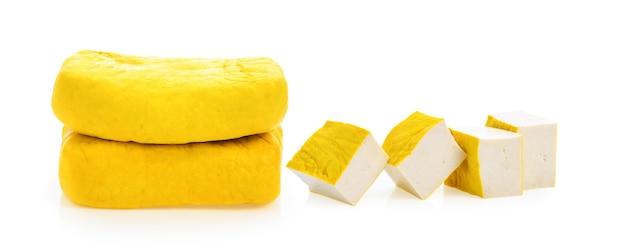 Żółte tofu