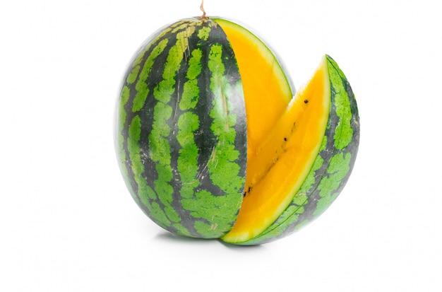 Żółty arbuz