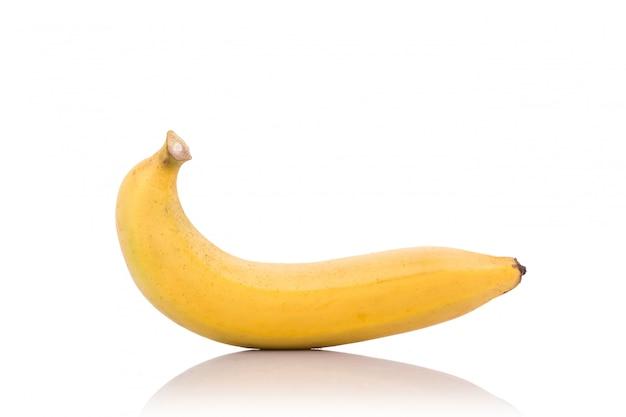 Żółty banan.