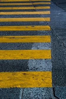 Żółty cebra przekraczania tekstury