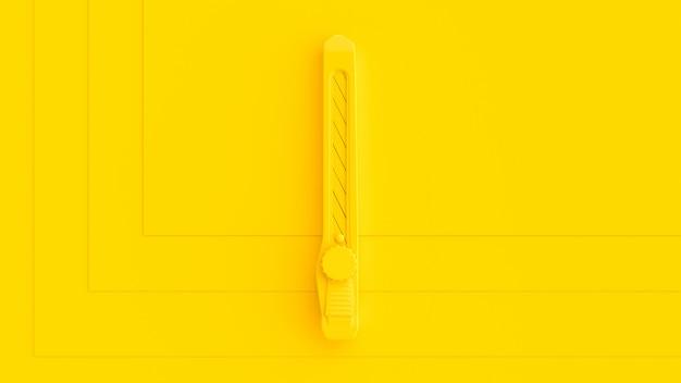 Żółty nóż