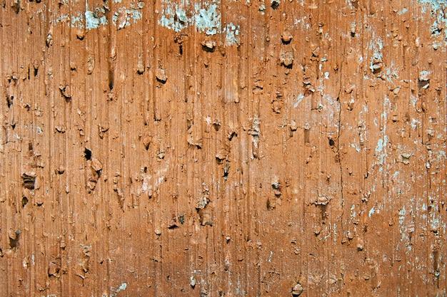 Żółty stary krakingowy ceglany tekstury tło