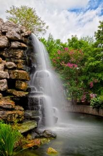 Zoo wodospad hdr