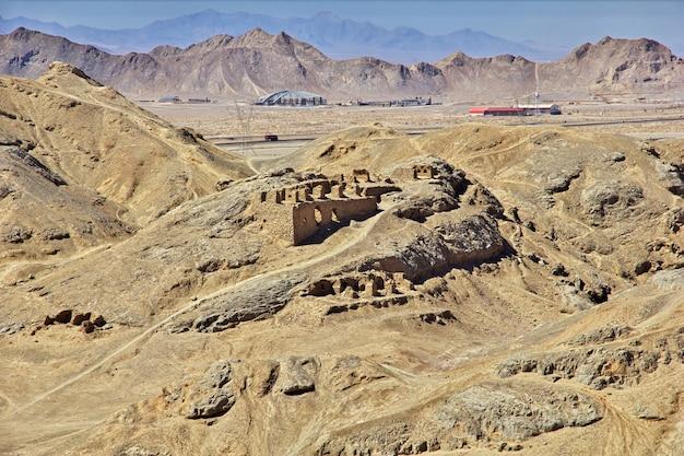 Zoroastrianin w yazd z iranu