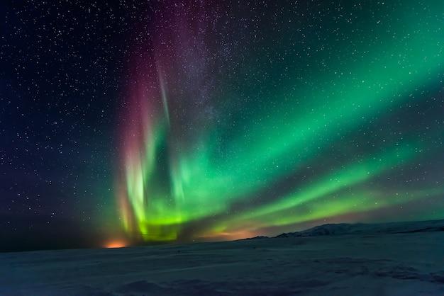 Zorza polarna zorzy polarnej