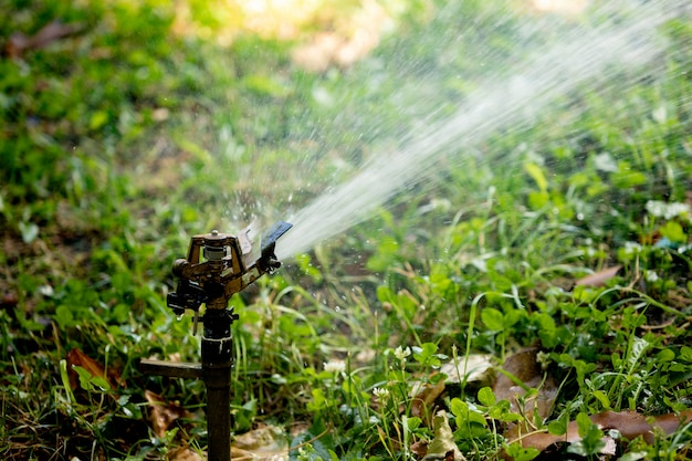 Zraszacz do trawnika zraszania wodą