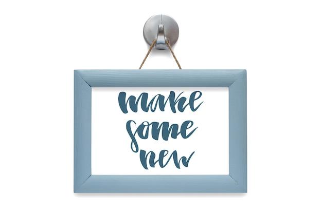 Zrób coś nowego. cytat motywacyjny.