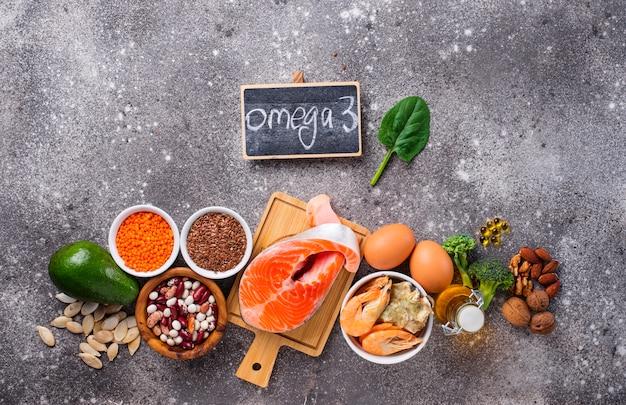 Źródła produktów kwasów omega-3
