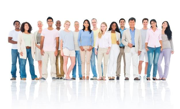 Zróżnicowana grupa ludzi