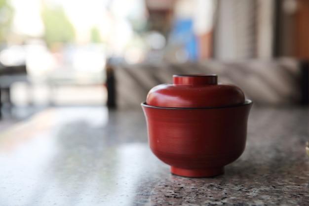 Zupa miso, japońskie jedzenie