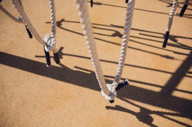 Związane liny