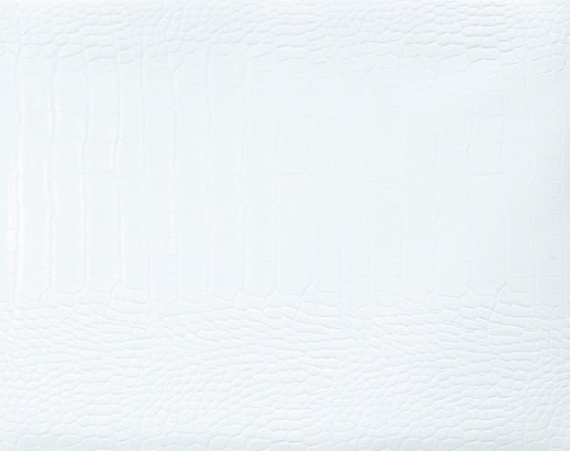 Zwykły biały skórzany teksturowanej tło